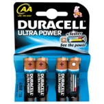 Duracell Ultra Power Batterien AA MX1500/LR6 4 Stück