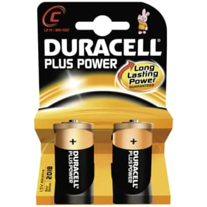 Duracell Plus Power Batterien C (MN1400/LR14) K2