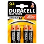 Duracell Plus Power Batterien AA MN1500/LR6 4 Stück
