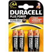 Duracell Plus Batterien Power AA 4 Stück