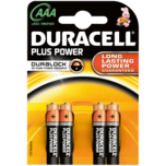 Duracell Plus Batterien Power AAA 4 Stück