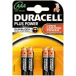 Duracell Plus Power Batterien AAA MN2400/LR3 4 Stück