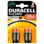 Duracell Plus Power Batterien AAA MN2400/LR3 4 Stück