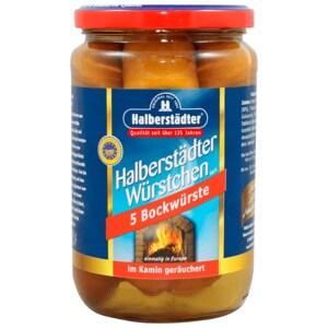 Halberstädter Bockwurst im zarten Naturdarm 400g, 5 Stück