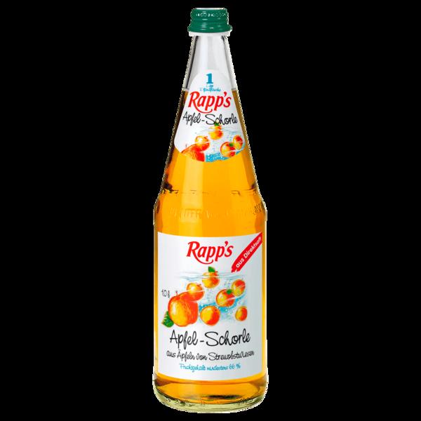 Rapp's Apfelschorle 1l
