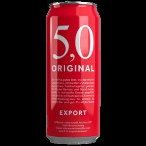 5,0 Original Export 0,5l