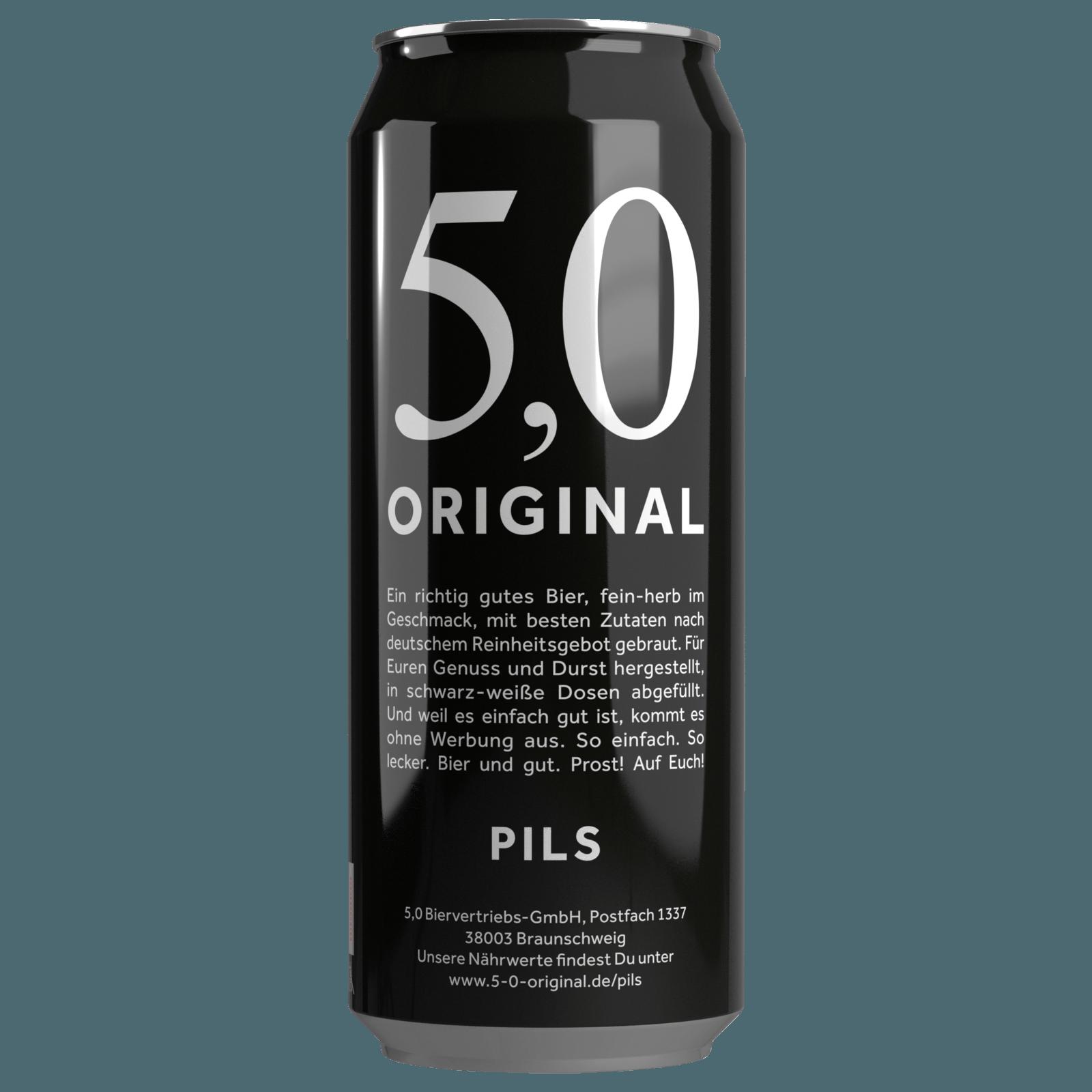 5 0 original pils 0 5l bei rewe online bestellen