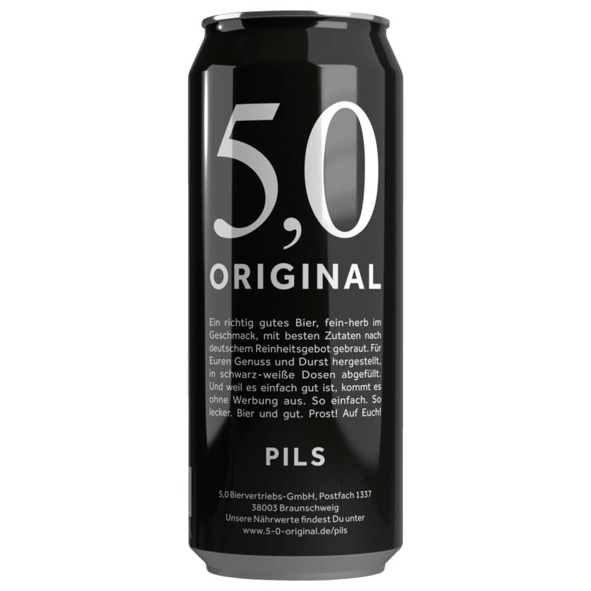 5,0 Original Pils 0,5l