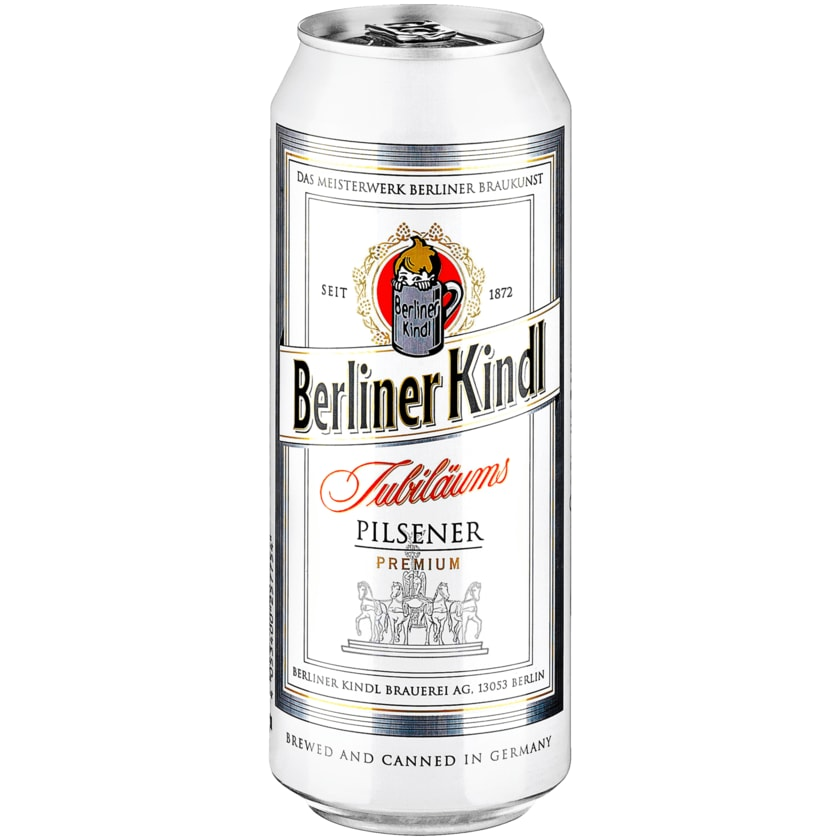 Berliner Kindl Jubiläums-Pilsener 0,5l