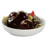 Palatum Schwarze Oliven mit Kräutern