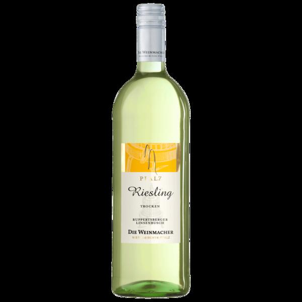 Die Weinmacher Weißwein Riesling trocken 1l