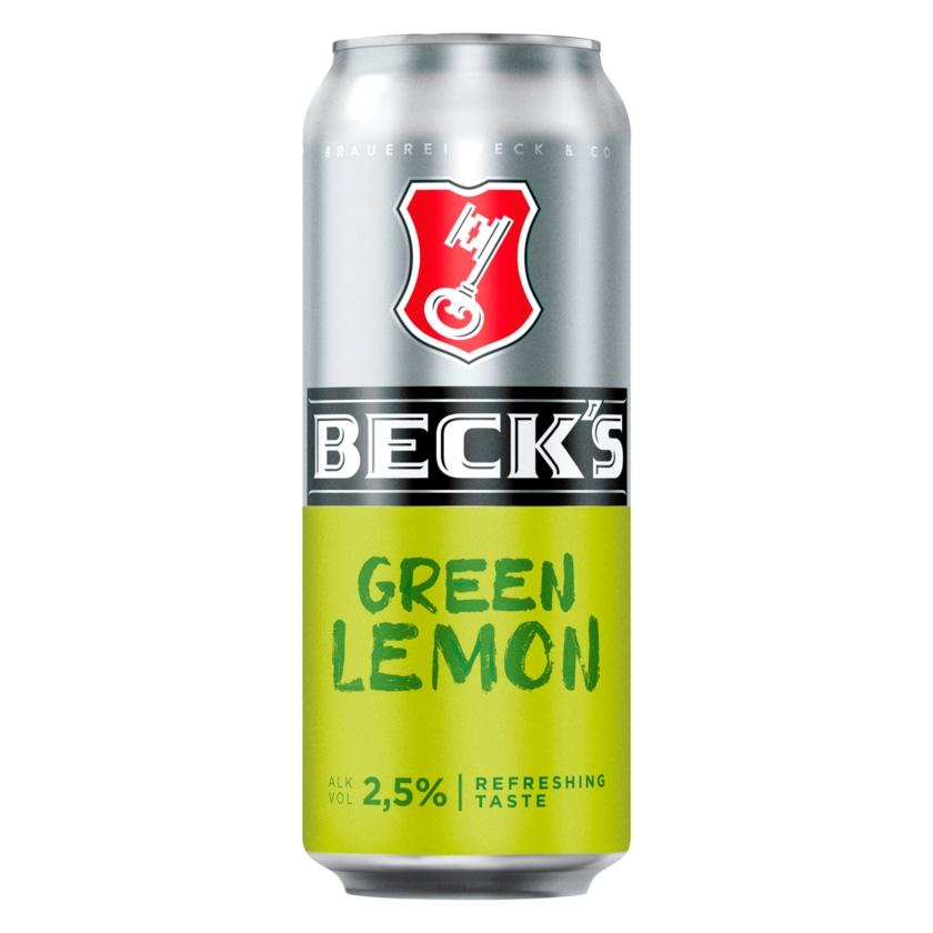 Beck's Green Lemon 0,5l