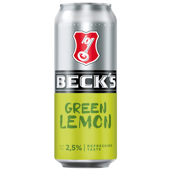 Beck's Green Lemon 0,5l