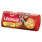 Wikana Wikinger Zitrone Minidoppelkeks 85g