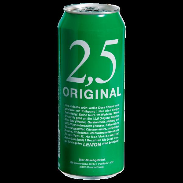 2,5 Original Lemon 0,5l