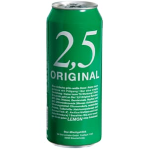2,5 Original Lemon 0,5l