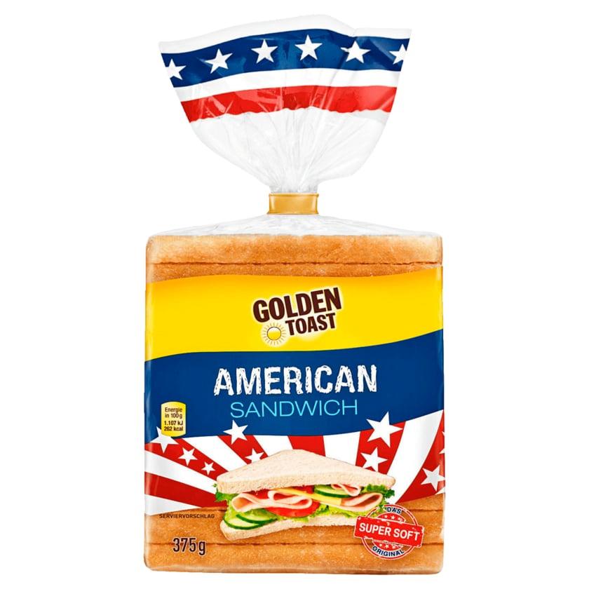 Golden Toast American Sandwich 375g