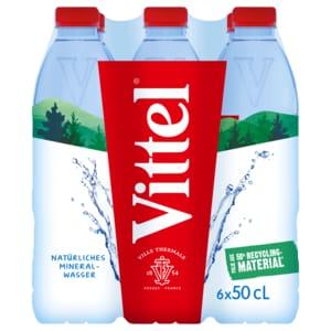 Vittel Stilles Mineralwasser 6x0,5l