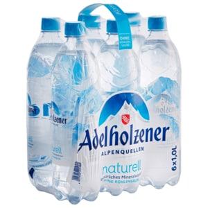 Adelholzener Mineralwasser Naturell 6x1l