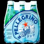 S. Pellegrino Mineralwasser Medium 6x0,5l