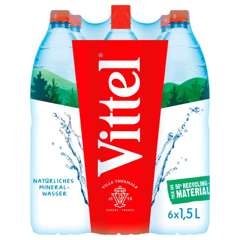 Vittel Stilles Mineralwasser 6x1,5l