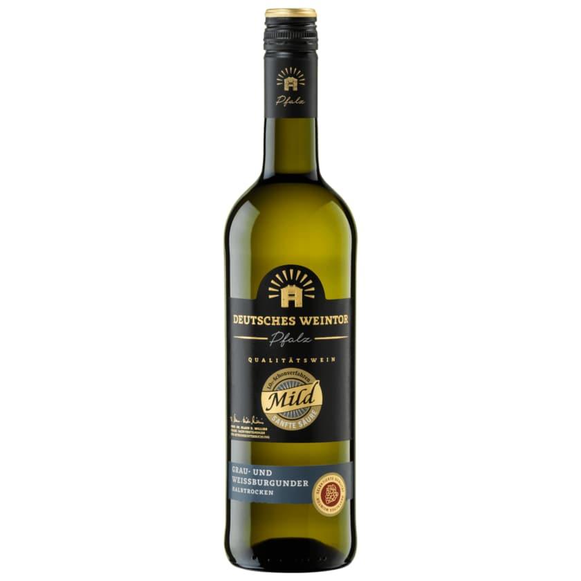 Deutsches Weintor Weißwein Grau- & Weißburgunder Edition Mild halbtrocken 0,75l