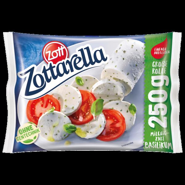 Zott Zottarella Rolle mit Basilikum 250g