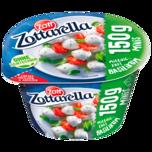Zott Zottarella Minis mit Basilikum Becher 150g