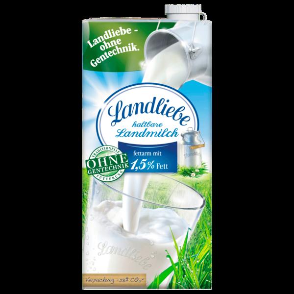 Landliebe Haltbare Landmilch 1,5% 1l
