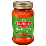Bertolli Pasta Classico Basilico Sauce Glas 400 g