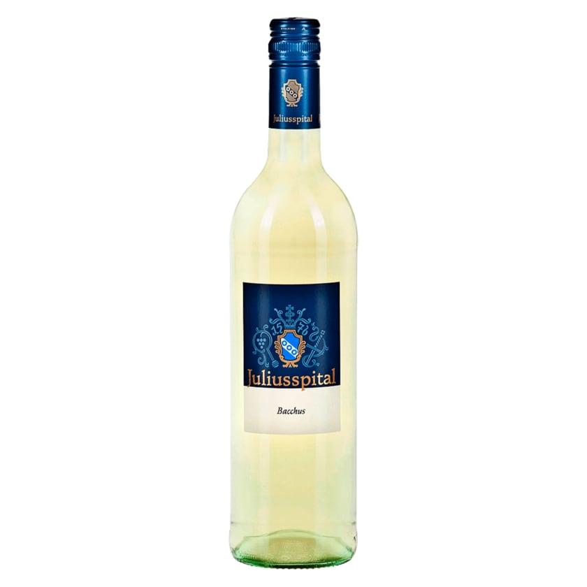 Juliusspital Weißwein Bacchus Qualitätswein halbtrocken 0,75l