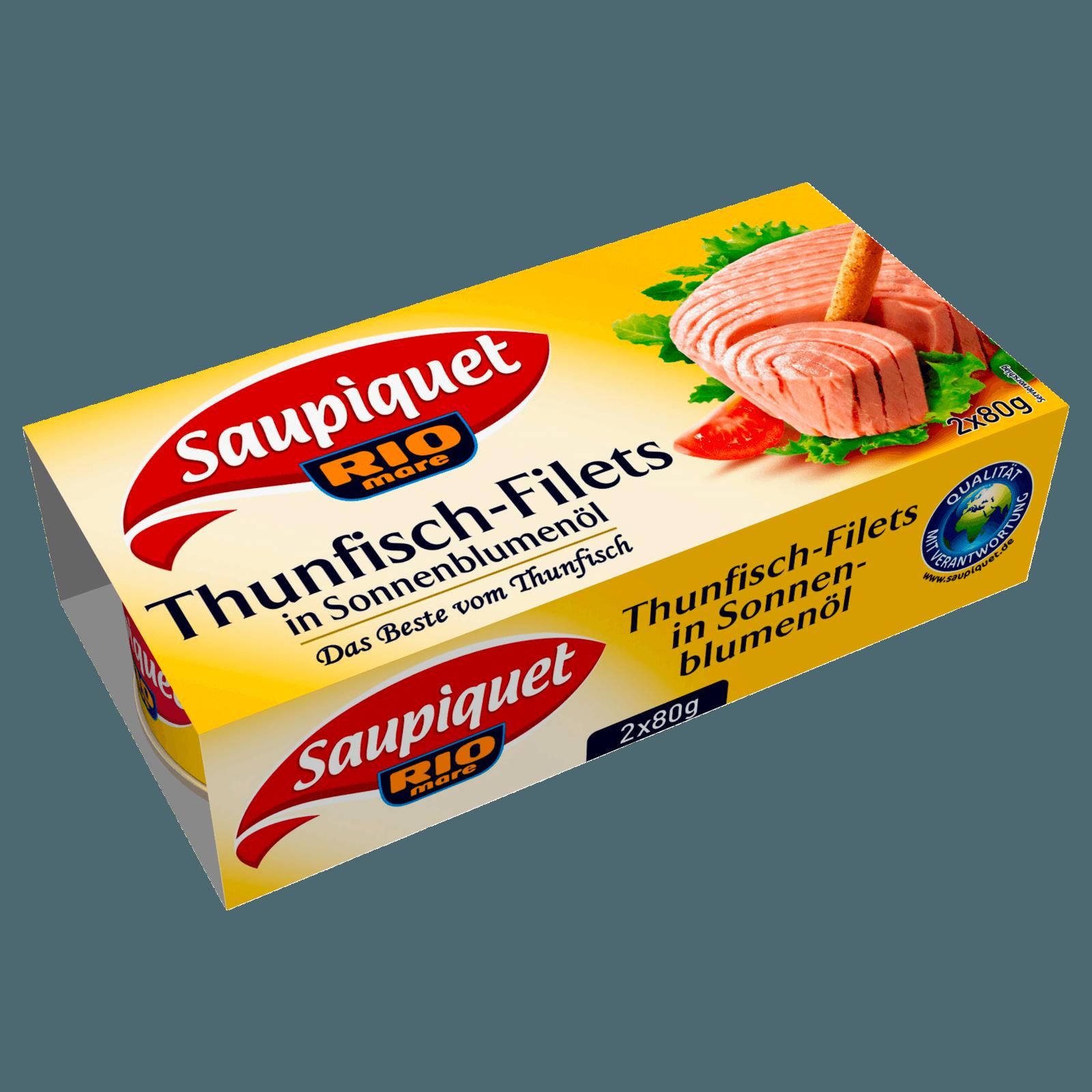 Saupiquet Thunfisch-Filet in Öl 2x52g