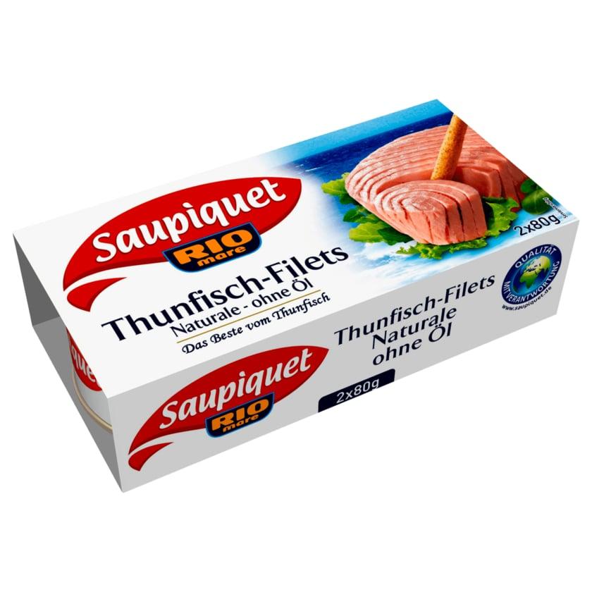 Saupiquet Thunfisch-Filet ohne Öl 2x56g