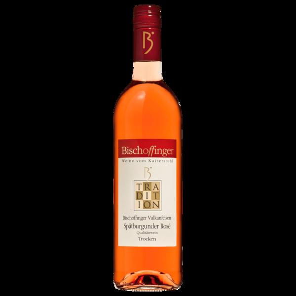 Bischoffinger Tradition Spätburgunder Rosé QbA trocken 0,75l
