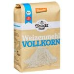 Bauckhof Bio Weizenmehl Vollkorn 1kg