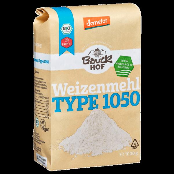 Bauckhof Bio Weizenmehl Type 1050 1kg