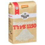 Bauckhof Bio Lichtkorn Roggenmehl Type 1150 1kg