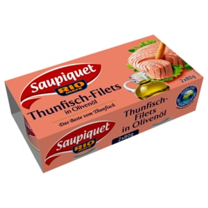 Saupiquet Thunfisch-Filet in Olivenöl 52g