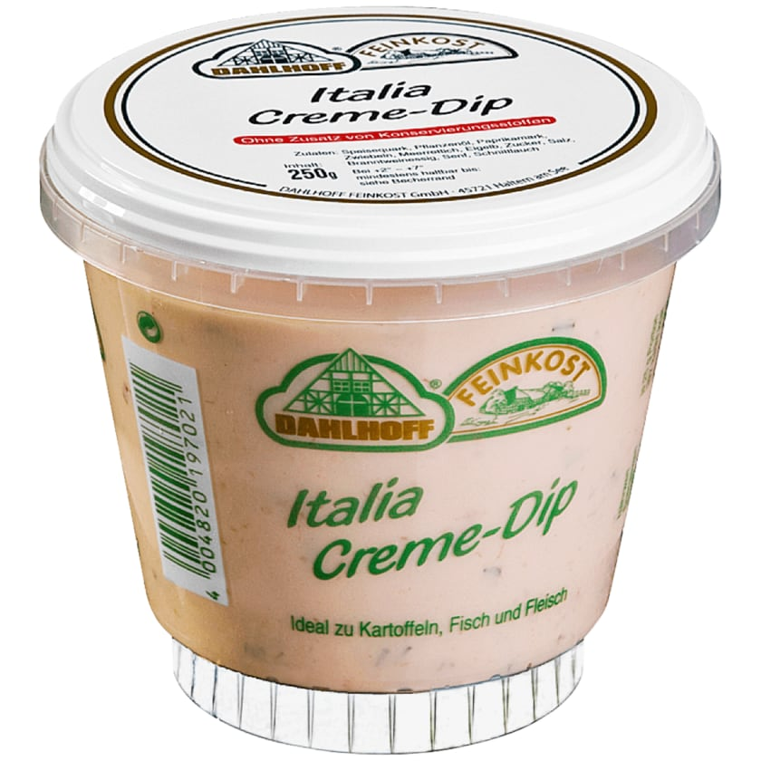 Dahlhoff Feinkost Italia-Creme-Dip 250g