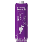 Beckers Bester Traubensaft Rot 1l