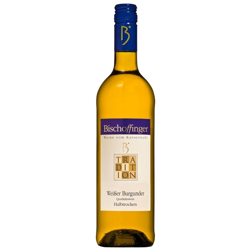 Bischoffinger Weißwein Weißer Burgunder QbA halbtrocken 0,75l