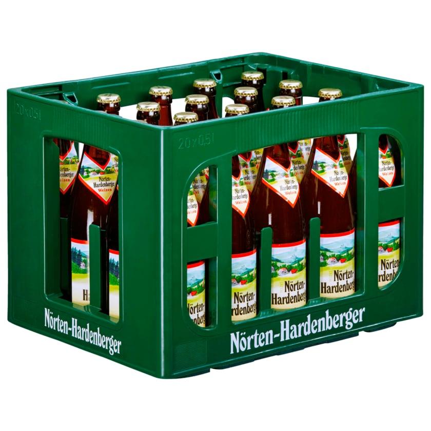 Nörten Hardenberger Hefe-Weißbier naturtrüb 20x0,5l