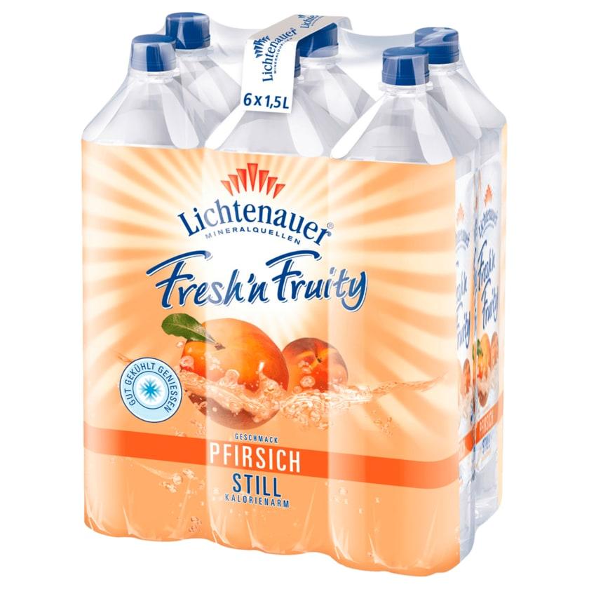 Lichtenauer Fresh'n Fruity Pfirsich 6x1,5l