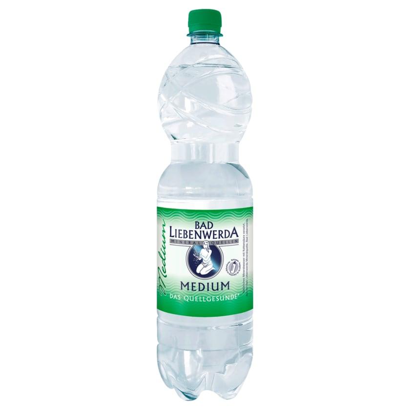 Bad Liebenwerda Mineralwasser Medium 1,5l