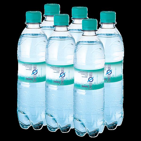 Spreequell Mineralwasser Medium 6x0,5l