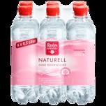 Rhönsprudel Mineralwasser naturell 6x0,5l
