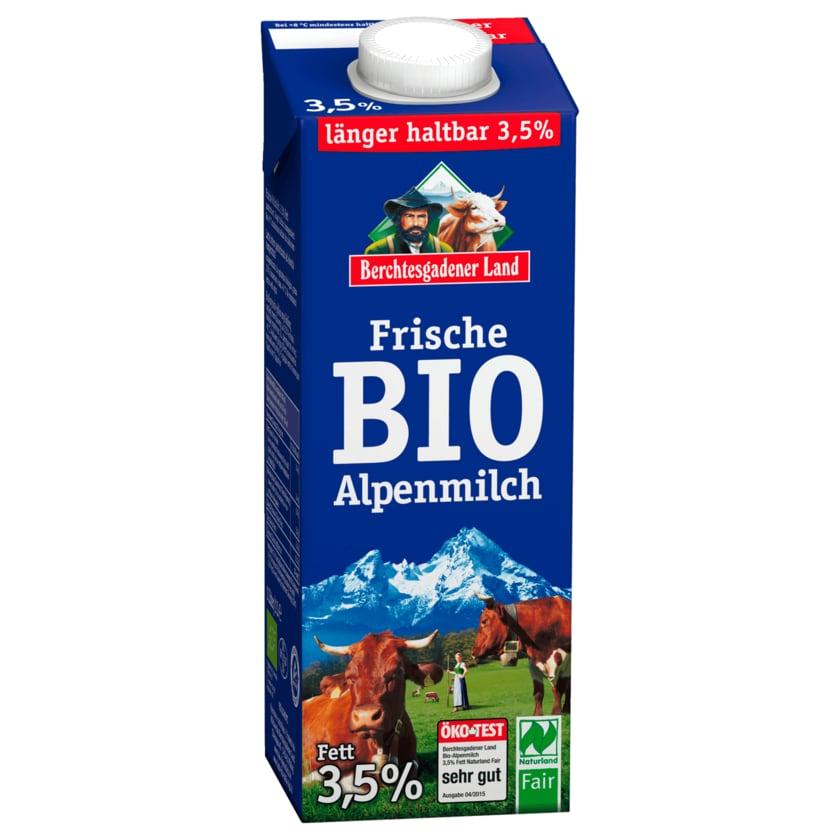 Berchtesgadener Land Extra länger frische Bio-Alpenmilch 3,5% 1l