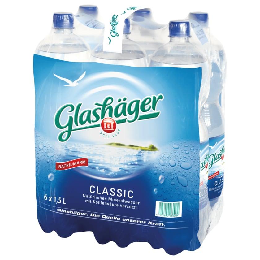 Glashäger Mineralwasser Classic 6x1,5l
