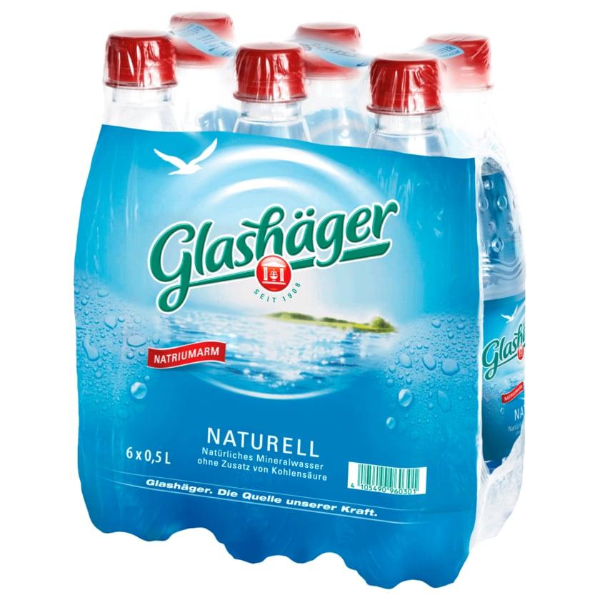 Glashäger Mineralwasser Still 6x0,5L