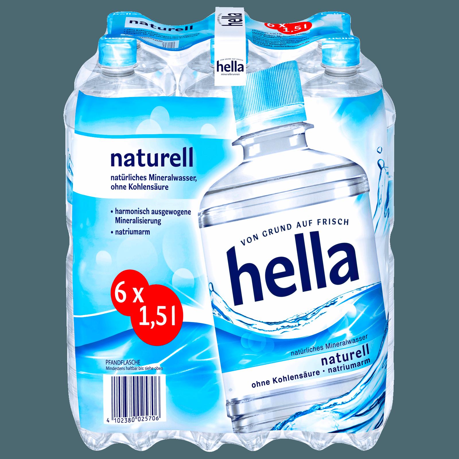 Hella Naturell 6x1,5l bei REWE online bestellen!